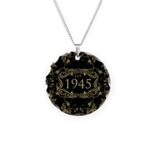 Est. 1945 Necklace Circle Charm