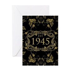 Est. 1945 Greeting Cards