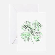 St. Patricks Shamrock Greeting Cards