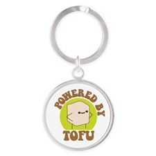 Powered by Tofu Keychains
