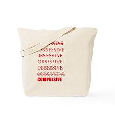Obsessive Compulsive Tote Bag