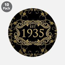 """Est. 1935 3.5"""" Button (10 pack)"""