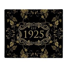Est. 1925 Throw Blanket