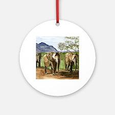 Cute Tanzania Round Ornament