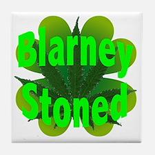 Blarney Stoned Tile Coaster