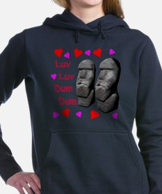 Luv Luv Dum Dum Women's Hooded Sweatshirt