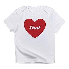 I Love Dad Infant T-Shirt