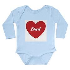 I Love Dad Body Suit