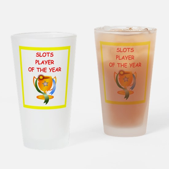 slots Drinking Glass