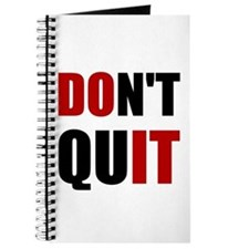 Dont Quit Do It Journal