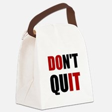 Dont Quit Do It Canvas Lunch Bag