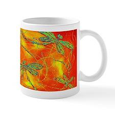 Dragonfly Fire Mugs