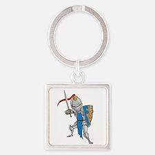 Knight Cartoon Keychains