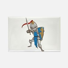 Knight Cartoon Magnets