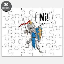 Knight Say Ni Cartoon Puzzle