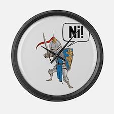 Knight Say Ni Cartoon Large Wall Clock