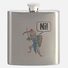 Knight Say Ni Cartoon Flask