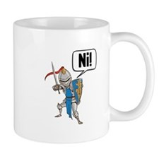 Knight Say Ni Cartoon Mugs