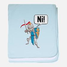 Knight Say Ni Cartoon baby blanket