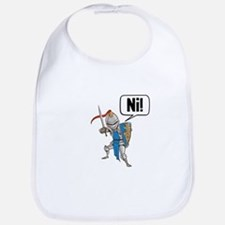 Knight Say Ni Cartoon Bib