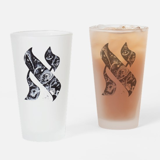 Unique Kabbalah Drinking Glass