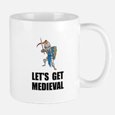 Let's Get Medieval Knight Mugs