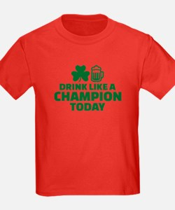 Drink like a champion today T