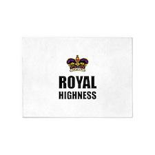 Royal Highness Crown 5'x7'Area Rug