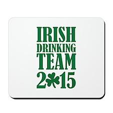 Irish drinking team 2015 Mousepad