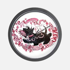 Scottie Valentine Wall Clock