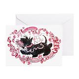 Scottie valentine Greeting Cards (20 Pack)