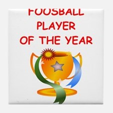 foosball Tile Coaster