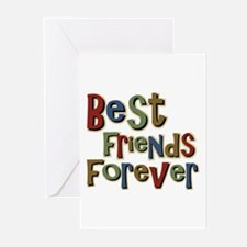 Best Friends Forever BFF School Greeting Cards (Pa