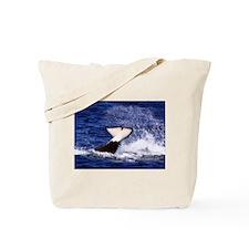 Orca Flukes Tote Bag
