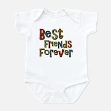 Best Friends Forever BFF School Infant Bodysuit