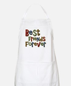 Best Friends Forever BFF School BBQ Apron