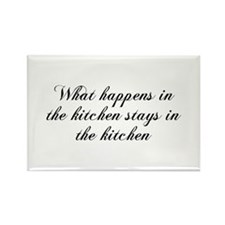 What happens in the kitchen-Cho black Magnets
