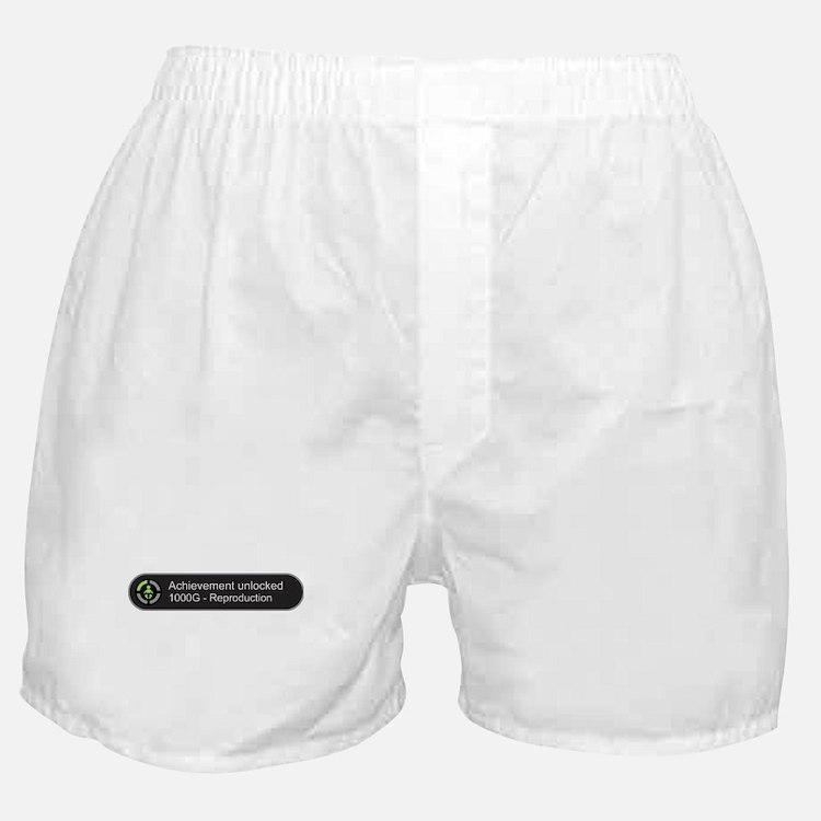 Achievement Unlocked - Reproduction Boxer Shorts