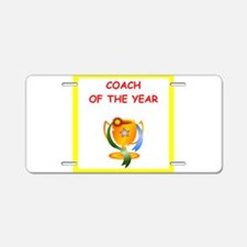 coach Aluminum License Plate