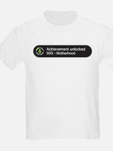 Motherhood - Achievement Unlocked T-Shirt