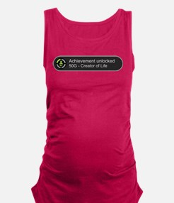 Creator of Life - Achievement U Maternity Tank Top