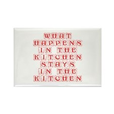 What happens in the kitchen-Kon red Magnets