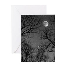 Moonlite Night Greeting Card