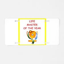 life master Aluminum License Plate