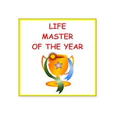 life master Sticker