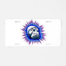 Hippo Pop Aluminum License Plate