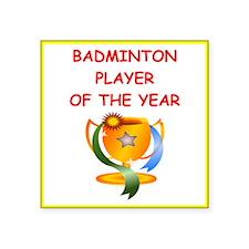 badminton Sticker