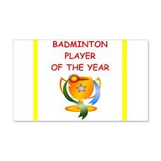 badminton Wall Decal