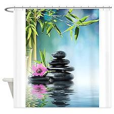 Unique Flower garden Shower Curtain