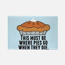 Pie Heaven Rectangle Magnet